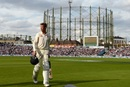 Keaton Jennings walks off the park after being dismissed, England v India, 5th Test, The Oval, 3rd day, September 9, 2018
