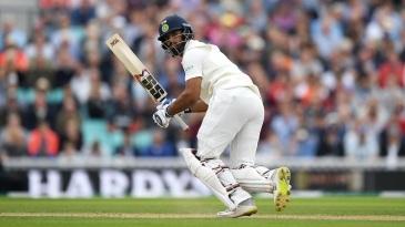 Hanuma Vihari plays the leg glance