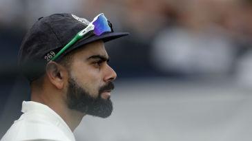 Virat Kohli watches England dominate