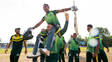 Saad bin Zafar was the hero of the inaugural Global T20 Canada final won by Vancouver Knights