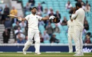 Rishabh Pant celebrates his maiden Test ton, England v India, 5th Test, The Oval, 5th day, September 11, 2018