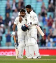 KL Rahul congratulates Rishabh Pant on his maiden Test hundred, England v India, 5th Test, The Oval, 5th day, September 11, 2018