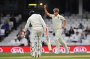Sam Curran celebrates a wicket, England v India, 5th Test, The Oval, 5th day, September 11, 2018