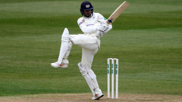 Jack Taylor in action for Gloucestershire