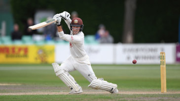 Rory Burns recorded his fourth hundred of a run-soaked summer