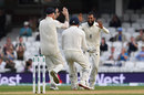 Adil Rashid celebrates dismissing KL Rahul, England v India, 5th Test, The Oval, September 11, 2018