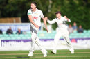 Morne Morkel reached 50 wickets in a hugely successful first season, Worcestershire v Surrey, County Championship, Division One, New Road, September 12, 2018