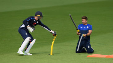 Michael Bates works with Jos Buttler