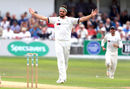 Jack Brooks celebrates the wicket of Tom Fell, Yorkshire v Worcestershire, Specsavers Championship Division One, Scarborough, August 20, 2018