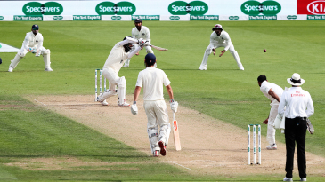 Mohammed Shami had the batsmen not in control of their shots far more than his 16 wickets in five Tests in England suggest