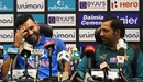 Rohit Sharma and Safraz Ahmed address a press conference, Dubai, September 14, 2018