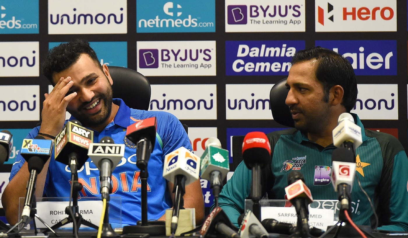 Watch: Rohit Sharma, Sarfraz Ahmed and Mashrafe Mortaza Share Jokes In Hindi While Clueless Angelo Mathews Looks On