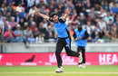 Pat Brown took three wickets in the 19th over, Worcestershire v Lancashire, T20 Blast, Semi-final, Edgbaston, September 15, 2018