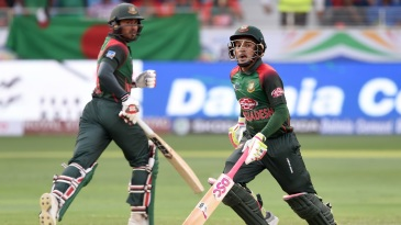 Mohammad Mithun and Mushfiqur Rahim shared a century-plus stand
