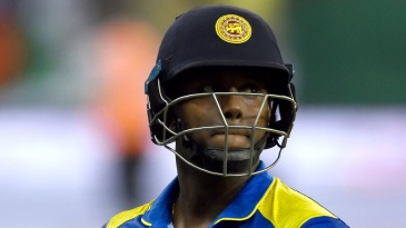 Angelo Mathews is disappointed at getting out