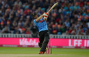 Laurie Evans puts everything into a shot, Worcestershire v Sussex, T20 Blast, Final, Edgbaston, September 15, 2018