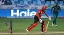 Aizaz Khan is bowled, Hong Kong v Pakistan, 2nd ODI, Asia Cup, September 16, 2018