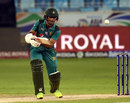 Fakhar Zaman punches through the off side, Hong Kong v Pakistan, 2nd ODI, Asia Cup, September 16, 2018