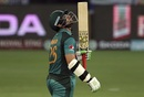 Imam-ul-Haq looks skywards after reaching his half-century, Hong Kong v Pakistan, 2nd ODI, Asia Cup, September 16, 2018
