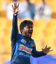 Akila Dananjaya appeals, Afghanistan v Sri Lanka, 3rd ODI, Group B, Asia Cup, September 17, 2018
