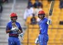 Rahmat Shah celebrates a half-century, Afghanistan v Sri Lanka, 3rd ODI, Group B, Asia Cup, September 17, 2018