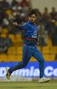 Rashid Khan wheels away in celebration, Afghanistan v Sri Lanka, 3rd ODI, Group B, Asia Cup, September 17, 2018
