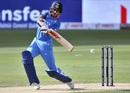 Shikhar Dhawan creams the ball through the covers, India v Hong Kong, Asia Cup 2018, Dubai, September 18, 2018