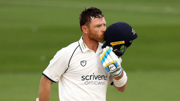 Ian Bell brought up another century