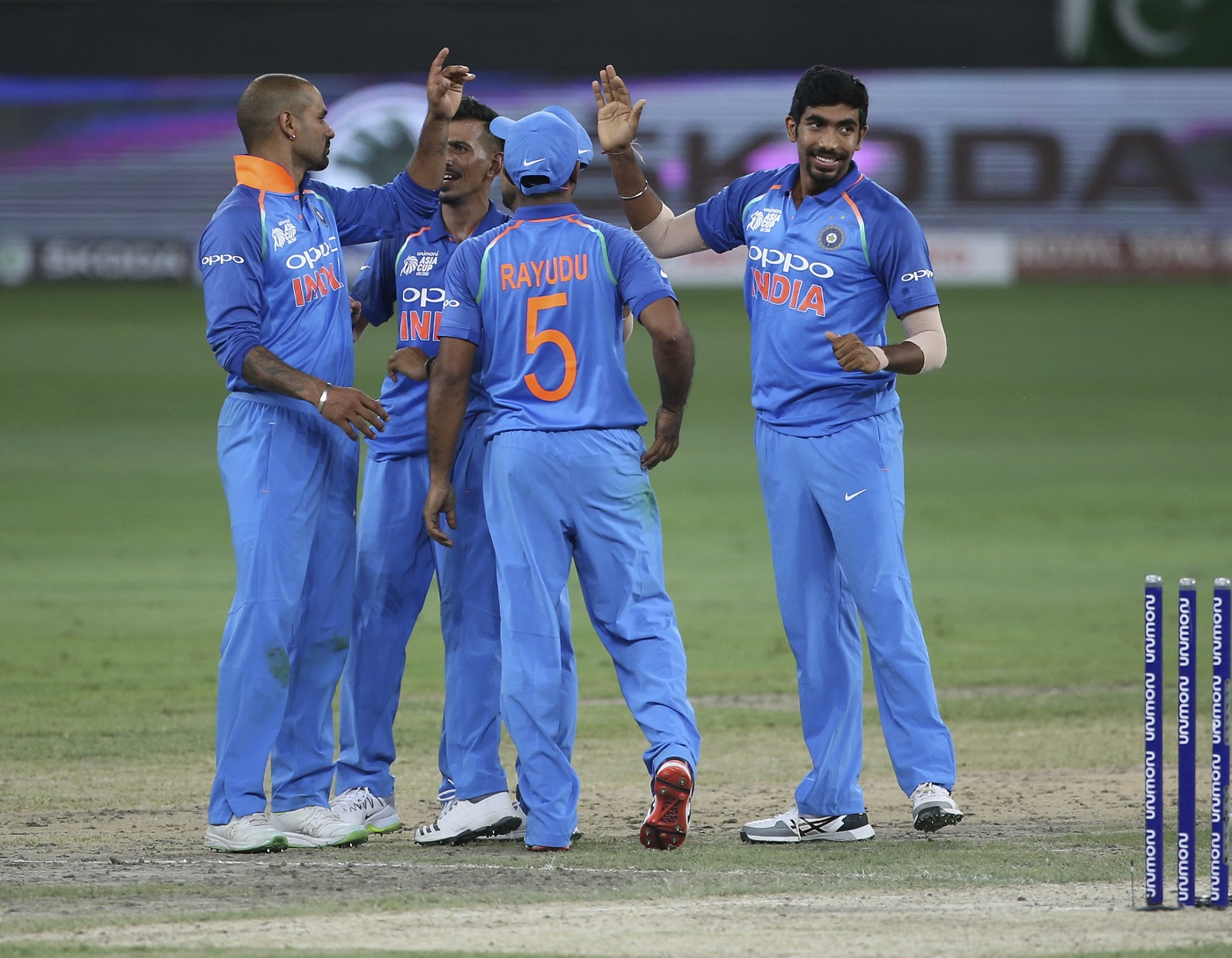 India smash Pakistan by eight wickets with superb all-round display