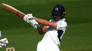 Max Holden struck a maiden hundred