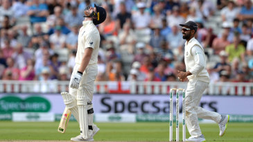 Outside of the Trent Bridge Test, which they won, India's best chance in England came at Edgbaston