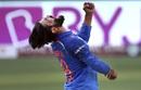 Ravindra Jadeja roars in delight, Bangladesh v India, Asia Cup, Dubai, September 21, 2018