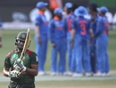 Shakib Al Hasan contemplates a poor shot, Bangladesh v India, Asia Cup, Dubai, September 21, 2018