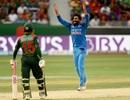 Ravindra Jadeja stifled Bangladesh with a four-wicket haul, Bangladesh v India, Asia Cup, Dubai, September 21, 2018