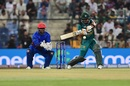Babar Azam shapes to pull the ball, Afghanistan v Pakistan, Asia Cup, Super Four, Abu Dhabi, 21 September, 2018