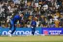 Rashid Khan bowls, Afghanistan v Pakistan, Asia Cup, Super Four, Abu Dhabi, 21 September, 2018
