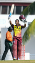 Hayley Matthews celebrates her maiden ODI century, West Indies v South Africa, 3rd women's ODI, Bridgetown, September 22, 2018