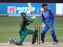 MS Dhoni plays spectator as Shoaib Malik launches one towards deep square leg, India v Pakistan, Super Four, Asia Cup 2018, Dubai, September 23, 2018