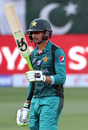 Shoaib Malik celebrates his fifty, India v Pakistan, Super Four, Asia Cup 2018, Dubai, September 23, 2018