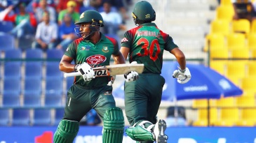 Imrul Kayes and Mahmudullah steadied Bangladesh