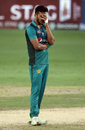Hasan Ali looked clueless and dejected, India v Pakistan, Super Four, Asia Cup 2018, Dubai, September 23, 2018