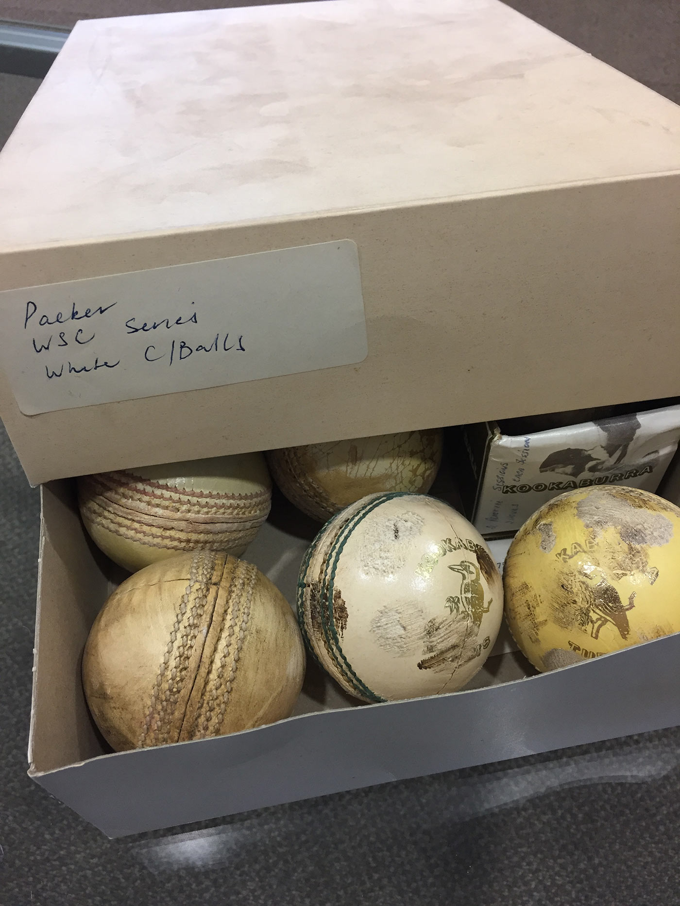 Kookaburra first made white cricket balls for World Series Cricket in the late 1970s