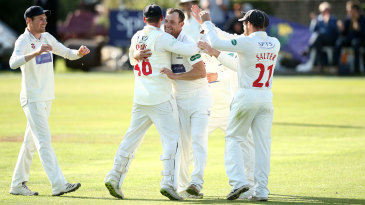 Glamorgan have not had too much to celebrate this season