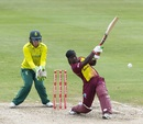 Deandra Dottin goes over the top, West Indies women v South Africa women, 1st T20I, Barbados, September 24, 2018
