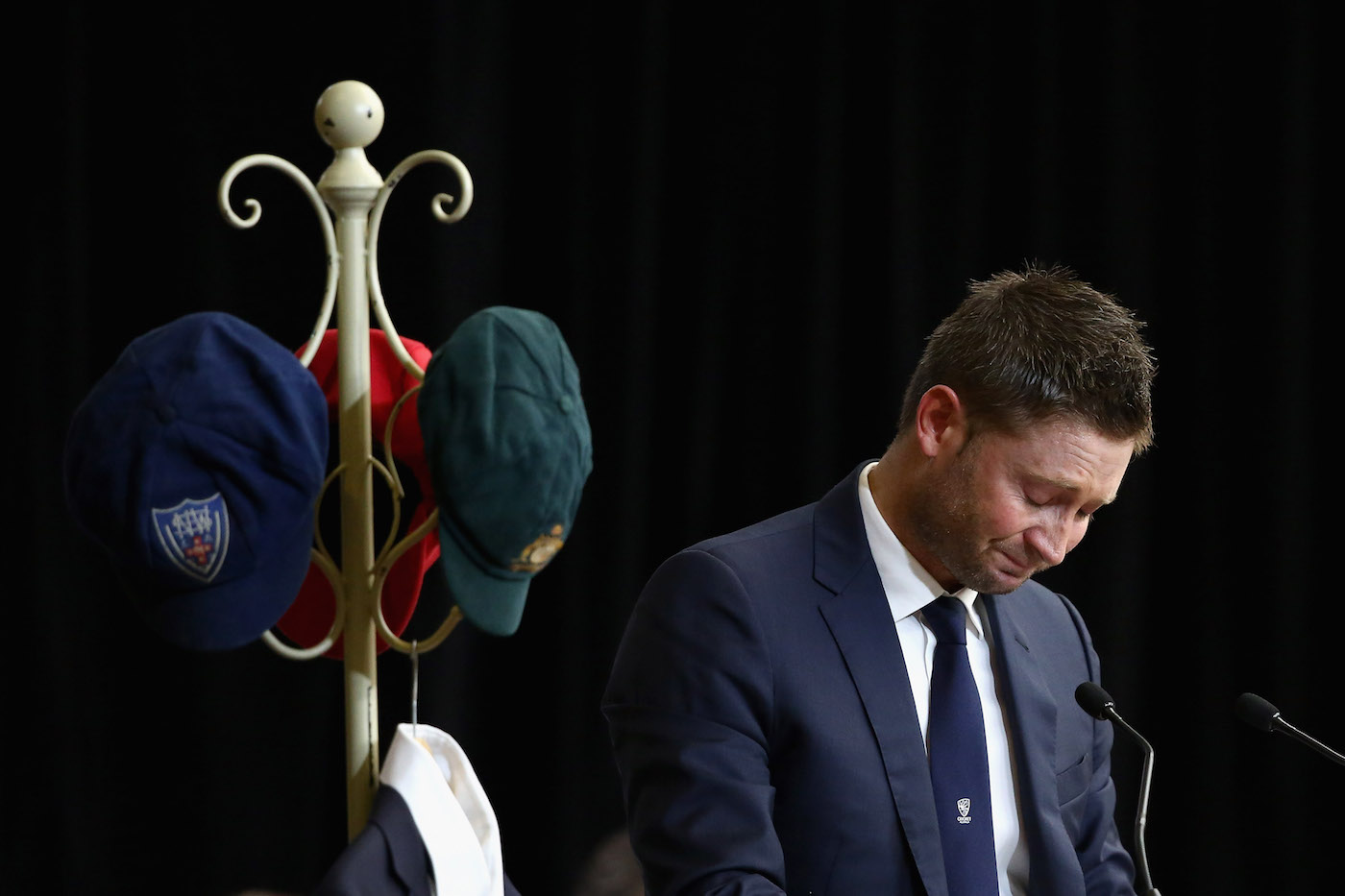 Clarke said in hindsight that he ought to have ended his career after the wrenching trauma of the death of Phillip Hughes