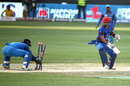 Javed Ahmadi turns around to MS Dhoni stumping him, Afghanistan v India, Asia Cup 2018, Dubai, September 25, 2018