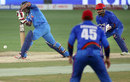 Ambati Rayudu gets forward to try and drive, Afghanistan v India, Asia Cup 2018, Dubai, September 25, 2018