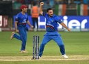 Javed Ahmadi enjoyed MS Dhoni's wicket, Afghanistan v India, Asia Cup 2018, Dubai, September 25, 2018