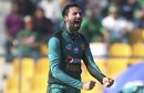 Junaid Khan is pumped up after taking a wicket, Bangladesh v Pakistan, Asia Cup 2018, Abu Dhabi, September 26, 2018