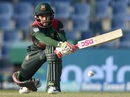 Mushfiqur Rahim goes for a reverse sweep, Bangladesh v Pakistan, Asia Cup 2018, Abu Dhabi, September 26, 2018